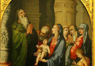Presentación del Niño Jesús en el Templo - Luis de Vargas